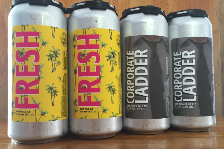 Fresh & Corporate Ladder Can Release